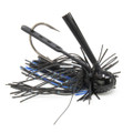 All-Terrain Tackle ATFJ319 A.T. - Finesse Jig, 3/8oz, Black/Blue - ATFJ319