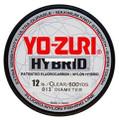 Yo-zuri HB40LBCL600YD HI VIS Hybrid - 40lb 600yds Clear - HB40LBCL600YD