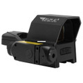 BSA RS-3324RL 33X24mm prism sight - with red laser, 4 reticles, Red - RS-3324RL