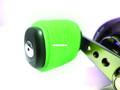 Reel Grip 1159 Slip On Rubber Reel - Handle Knob Cover, 2 pc, Glow in - 1159