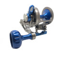 Seigler R003R SG (Small Game) - Smoke/Blue RH Lever Drag Fishing - R003R