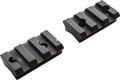 Durasight DS113B Cascade 0 MOA Two - Piece Aluminum Picatinny Bases Black - DS113B