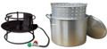 King Kooker 6013N Portable Propane - Outdoor Boiling Package W/60 Qt. - 6013N