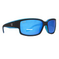Calcutta BBS1BM Blackjack - Sunglasses Matte Black w/Blue - BBS1BM
