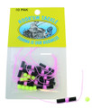 Hook'um 11017 Bobber Stop Knot - w/Bead Pink 10Pk - 11017