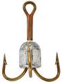 Matzuo W304015-5/0 Snag Weight 1oz - Treble #5/0 Bronze - W304015-5/0