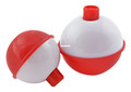 "Danielson B8130BUL200 Snap-On Float - Red/White 2"" Bulk 48pk - B8130BUL200"