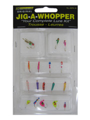 JIG-A-WHOPPER 18 PIECE PANFISH LURE KIT ASSORTED