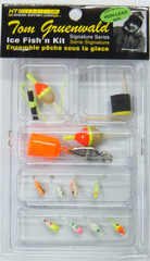 PANFISH KIT GLOW-16 ASSORTED PIECES PER KIT