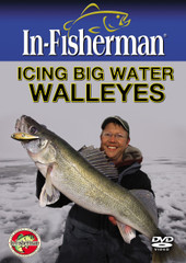 ICING BIG-WATER WALLEYES-VIDEO