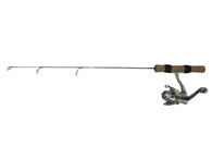 "FISH HUNTER SNOW COMBO 25"" LIGHT W/SCAR-102 REEL"