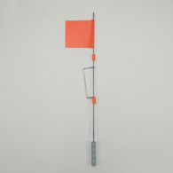 FLAG ASSEMBLY W/WIND TRIP WIRE AND SNAPS