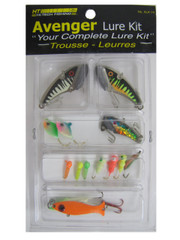 HT AVENGER LURE KIT, ASSORTED, 14 PC.