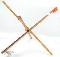 EXPLORER WOOD STICK TIP-UP W/ 500' METAL SPOOL W/ DRAG