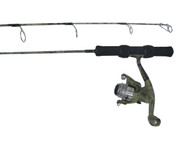 FISH HUNTER ICE 24 LIGHT COMBO W/CACR-102 2B REEL