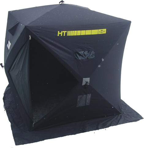 Contains Shelter Outer Shell with Sewn-In Doors, Zippers and Velcroed Windows  300 Denier Polyester Material Replacement Poles Carry Bag and Hardware Sold Separately