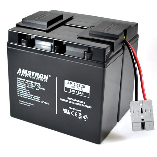 Rechargeable, high Rate APC RBC12 Replacement Battery Pack