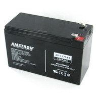 Amstron 12V/7Ah Sealed Lead Acid Battery with F2 Terminal