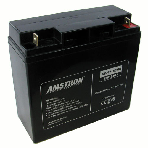 12v 18ah Battery >> Amstron 12v 18ah Sealed Lead Acid Battery W Nb Terminal
