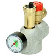 boiler safety group assembly
