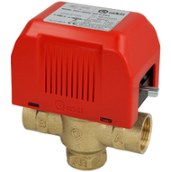 3-way motor valve, Ø 28 mm without limit switch, 220 Vz (512300345)