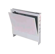 Heating circuit distribution cabinet concealed for 9-11 circuits