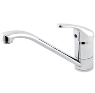 "Single-lever sink mixer ""Cento"" chrome, closed lever"