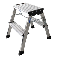 Aluminium double folding steps Roll/stop automatic 2x2 steps