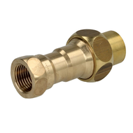 """Pre-stage screw valve 1"""" ET with screw + heat-activated shut-off device"""