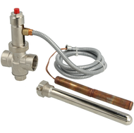 "Thermal drain valve ¾"" 97°C control temperature"