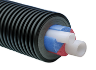 Uponor Ecoflex Aqua Twin Pre-Insulated Pipe