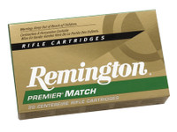 1,000 rounds REM Premier Match .223 Remington 69 Grain MatchKing Boattail Hollow Point	 Premier Match