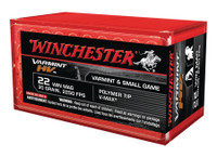 WIN Varmint High Velocity .22 Winchester Magnum 30 Grain V-Max 50 Per Box Varmint HV