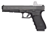GLK Glock 40 Gen4 MOS 10mm 6.02 Inch Barrel Black Adjustable Sights 10 Round