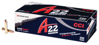 CCI A22 Ammunition .22 WMR 35 Grain Game Point 200 Rounds Per Box	 A22 22 WMR Ammunition