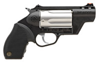 TAU Judge Public Defender .45 Long Colt/.410 Gauge 2 Inch Stainless Steel Barrel Fiber Optic Front Sight Polymer Frame 5 Round