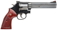 S&W Model 586 Classic .357 Magnum/.38 S&W Special +P 6 Inch Barrel Blue 6 Round