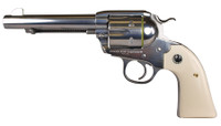 RUG Model KNVRB-35 New Vaquero Bisley .357 Magnum 5.5 Inch Barrel High Gloss Stainless Steel Finish Fixed Sight 6 Round