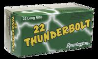 Remington Ammunition TB22B Thunderbolt 22 LR Round Nose 40 GR 500 RD BOXES- 6,500 RDS FREE SHIPPING