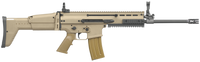 FN 98501 SCAR 16S Carbine Semi-Automatic 223 Remington/5.56 NATO 16.25 30+1 Adjustable Folding Stock Flat Dark Earth/Black*