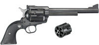 Ruger New Model Blackhawk Convertible 45 Colt/45 ACP Single-Action Revolver 7.5""