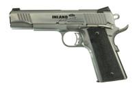 . Inland Mfg ILM1911TC 1911 Custom Carry Single 45 ACP 5 7+1 Black Ergo XT Grip Stainless