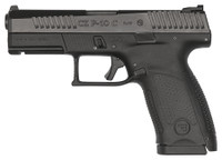 CZ P-10 CMPCT 9MM BLK/BLK 15+1 4.02in, 806703915203, 91520