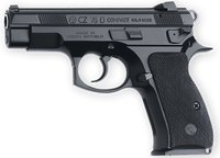 CZ 91194 CZ 75 PCR Compact SA/DA 9mm 3.75 14+1 Black Rubber Grip Black*