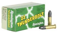 Remington Ammunition TB22A Thunderbolt 22 LR Round Nose 40 GR 50Box/100Case-5,000 rounds