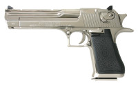 MAGNUM RESEARCH DESERT EAGLE .357 MAGNUM BRIGHT NICKEL 6-INCH 9RD STEEL FRAME