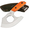 "610953147259, 15100-1, Benchmade Nestucca Cleaver 4.41"" Plain Edge Orange G10 Stainless Steel"