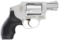 """Smith & Wesson 103810 642 Airweight Double 38 Special 1.875"""" 5 rd Black Synthetic Grip Stainless"""