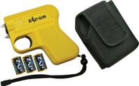 PSP ZAP GUN YELLOW 950000 VOL W/LIGHT TAKES CR2A BATTERIES