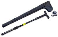 PSP ZAP STUN CANE W/ LED LIGHT ADJ 32-36 1000000 VOLTS